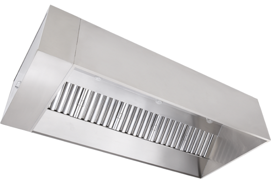 Type 2 Exhaust Hoods ~ T nd series exhaust only wall canopy hood